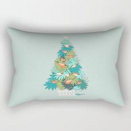 Tropical Xmas Rectangular Pillow