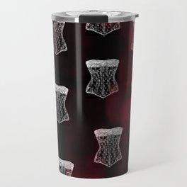 Corset pattern Travel Mug