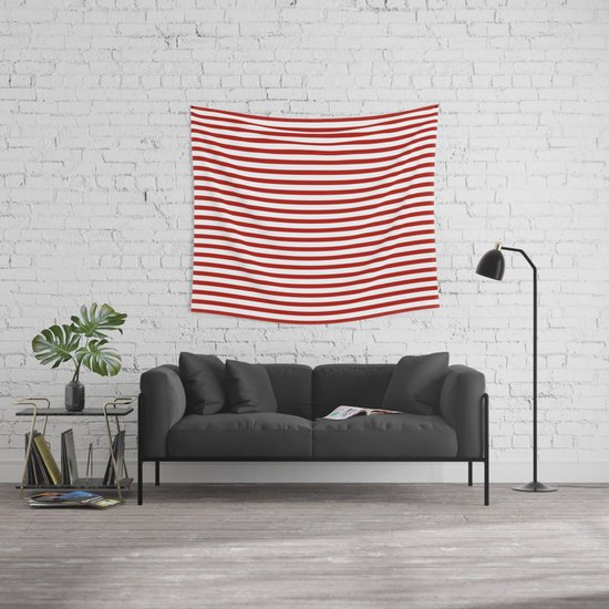 Red & White Maritime Small Stripes - Mix & Match with Simplicity of ...