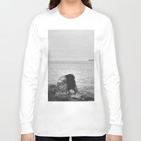 alone Long Sleeve T-shirts featuring Alone  by PhotoStories