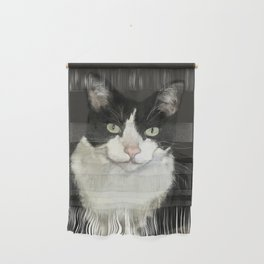 Cat Eightball Wall Hanging
