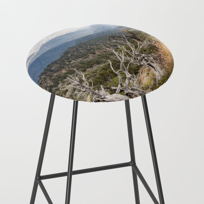 Inspiration Point along Pacific Crest Trail Bar Stool