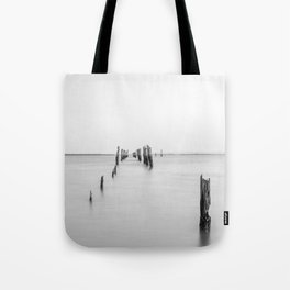 Old Tenby Point Jetty Tote Bag