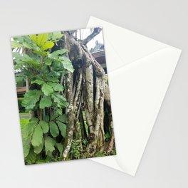 Leaflet Burst of Collective Torso Stationery Cards
