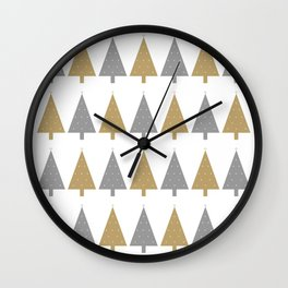 Christmas & New Year Wall Clock
