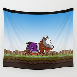 Joust It (Horsey) Wall Tapestry