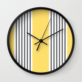 Coogee Stripe Wall Clock
