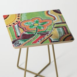 """ the flower "" Side Table"
