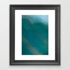 Flow III Framed Art Print