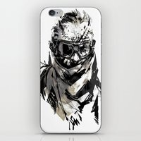 metal gear iPhone & iPod Skins featuring Metal Gear Solid V BS  by Hisham Al Riyami
