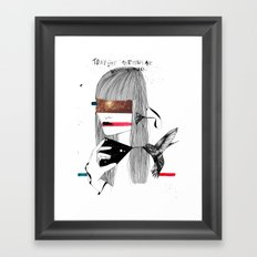 The Capture Framed Art Print