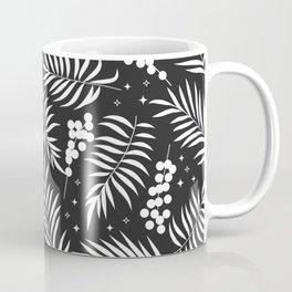 Minimal Mistletoe Bw Coffee Mug