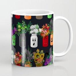 Halloween Mason Jar Bouquets Coffee Mug