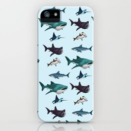 Shark Cage iPhone Case