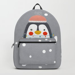 Christmas Penguin Backpack