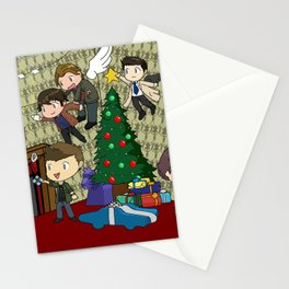 SuperWhoLock Christmas Stationery Cards