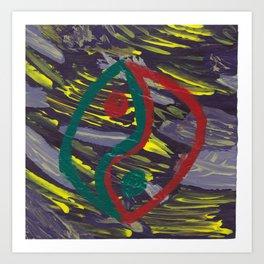 226 - Yin-Yang I Art Print