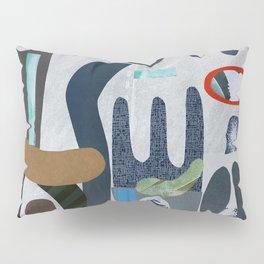 Rock Garden in grey Pillow Sham