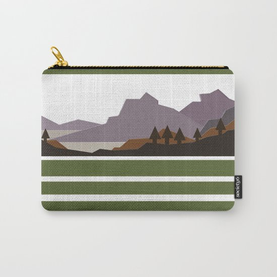 Rough Mountains Carry-All Pouch