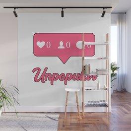 Unpopular Instagram Wall Mural