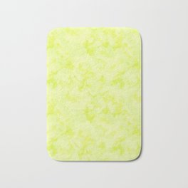 Abstract pattern . Lime . Bath Mat
