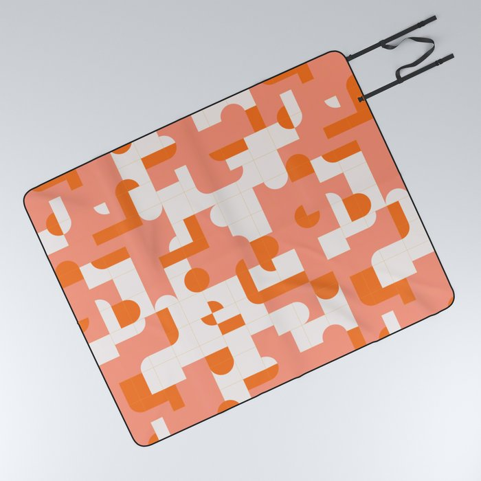 Puzzle Tiles #society6 #pattern Picnic Blanket