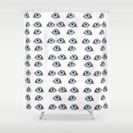 Husky Eye Shower Curtain