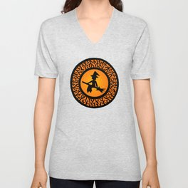 The Witch's Shadow Unisex V-Neck
