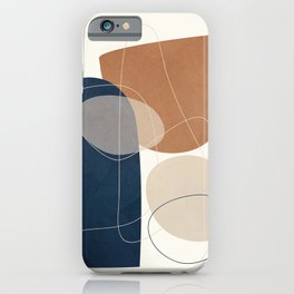 Spiraling Geometry 1 iPhone Case