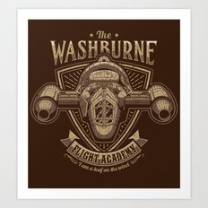 The Washburne Flight Academy Art Print