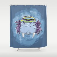 marley Shower Curtains featuring Marley by Lauda Images