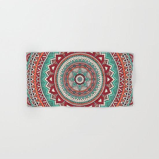 Hippie mandala 1 Hand & Bath Towel