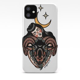 Kiss the goat iPhone Case