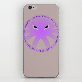 Cthulu Roundel iPhone Skin