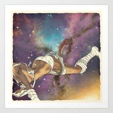 Bodies in Space: Bruising Art Print