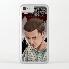 Eleven Stranger Things Clear iPhone Case