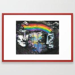 If We were Rainclouds Framed Art Print