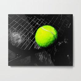 Tennis art print vs 1 Metal Print