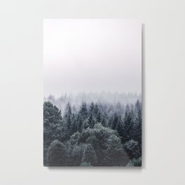 Winter forest trees #1 Metal Print