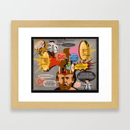 """Chapter 6. """"To Whom It May Concern"""" his last checkup. Framed Art Print"""