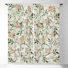 Jasmine by William Morris Blackout Curtain