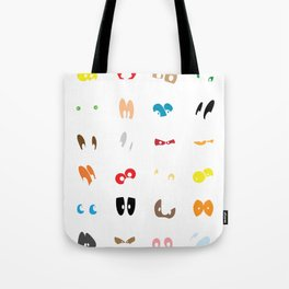Different Eyes Tote Bag