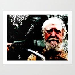 Walking Dead: Hershel 2 Art Print