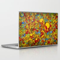 mucha Laptop & iPad Skins featuring Mucha Lucha by Guilherme Marconi