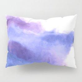 Purple Sky, White Light - abstract Pillow Sham