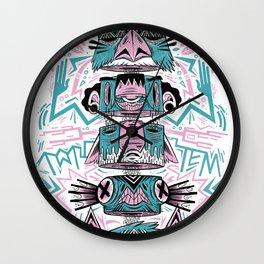 Toto-Tem Wall Clock