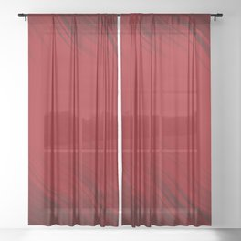 Stripes Wave Pattern 10 dr Sheer Curtain