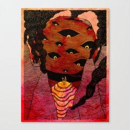 The Pestilence Canvas Print