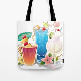 Tropical Drinks 3 Tote Bag