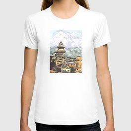Nepal Temple Bhaktapur Kathmandu T-shirt